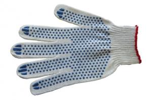 Перчатки Норма с ПВХ точка (4-нитка)